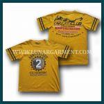 Hasil Produksi Dan Desain Kaos Oblong Anniversary CCI Gresik Bahan Combed 30's