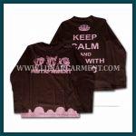 Hasil Produksi Dan Desain Kaos Oblong Instafriwert Bahan Combed 30's