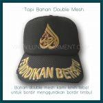 Hasil Produksi Dan Desain Topi SEKUMPUL Bahan Double Mesh