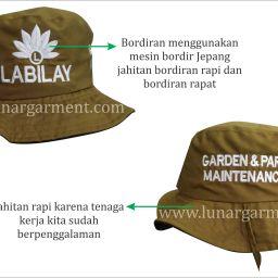 Konveksi Topi Rimba Custom Surabaya