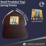 Hasil Produksi Topi Jaring Persebaya