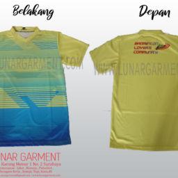 Hasil Produksi Dan Desain Kaos Jersey