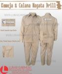 Hasil Produksi Kemeja Dan Celana Nagata Drill Ericho