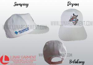 Hasil Produksi Dan Desain Topi BUMN Pelindo III