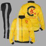 Hasil Produksi Dan Desain Jaket Dan Training Diadora Little Sun Wushu Academy