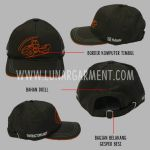 Hasil Produksi Dan Desain Topi Bahan Drill PT HAMM