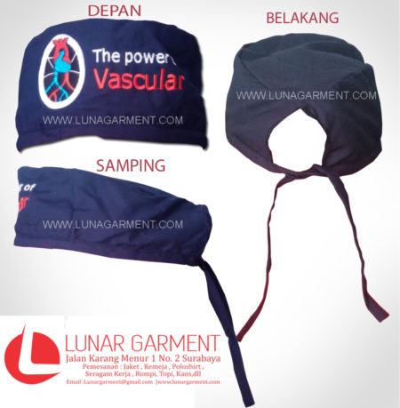 Topi Operasi The Power Vascular
